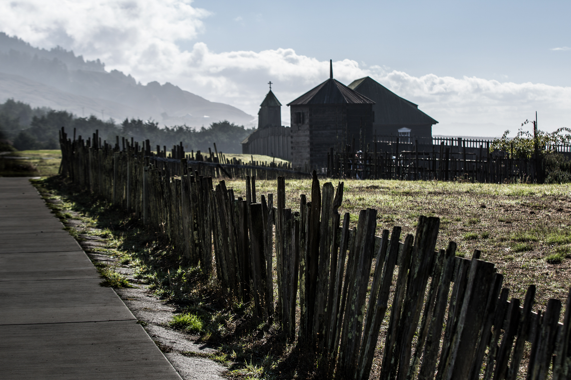 Misty Morning at Fort Ross State Historic Park
