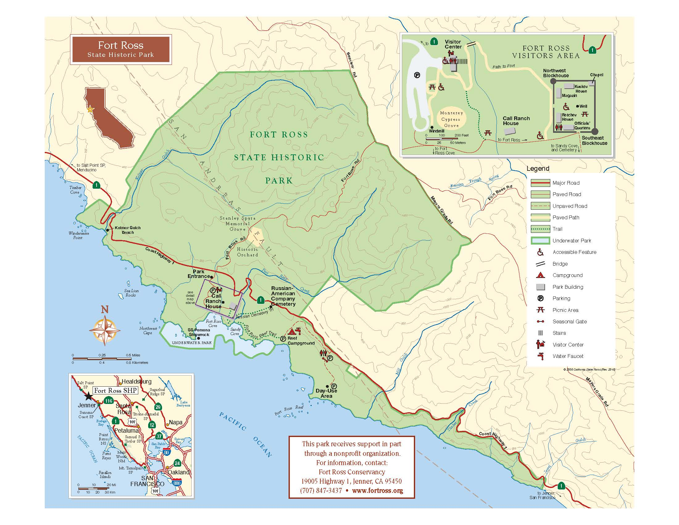 Fort Ross Map